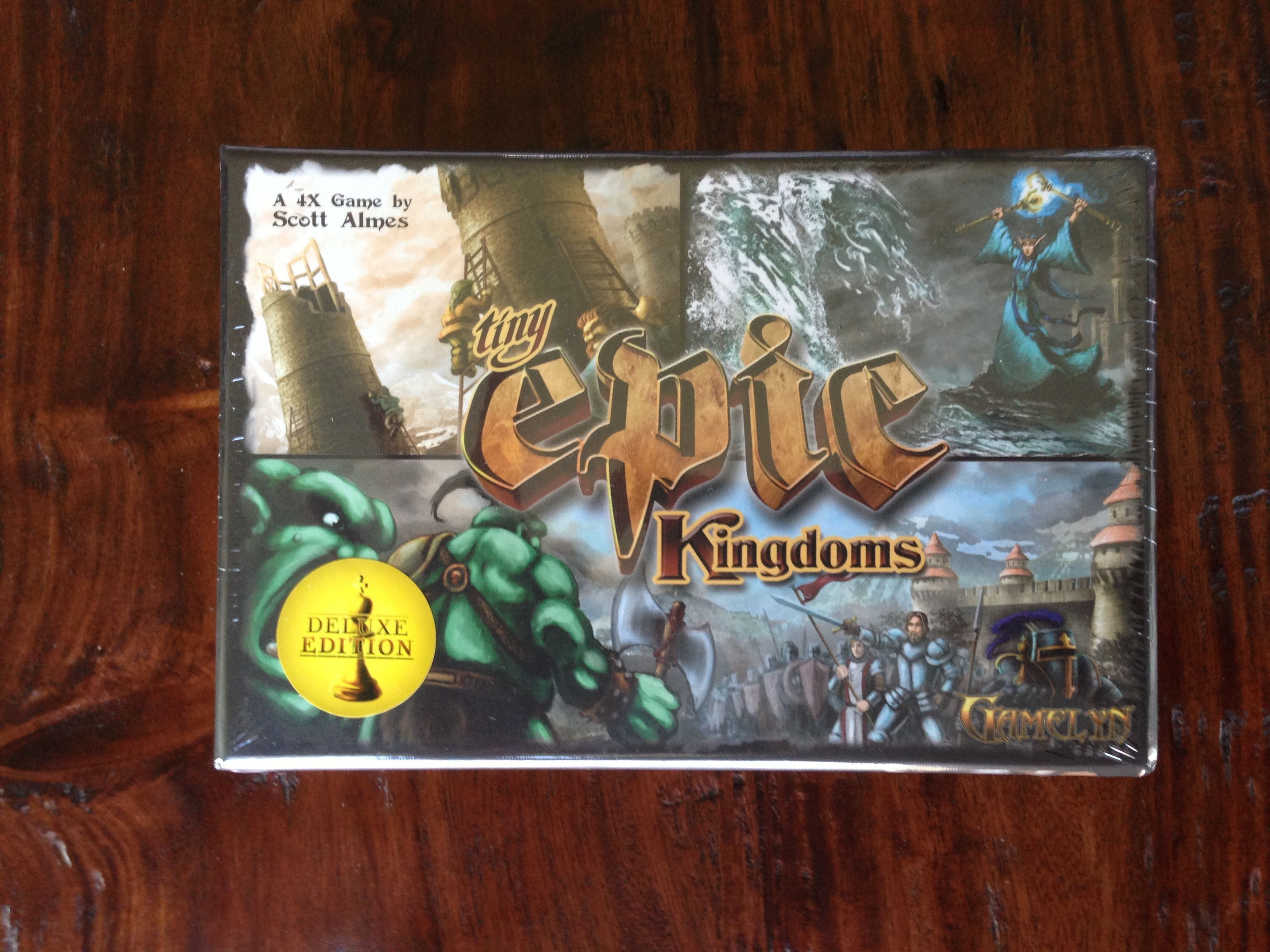Tiny Epic Kingdoms: Deluxe Edition