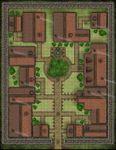 RPG Item: VTT Map Set 171: Walled Trading Post