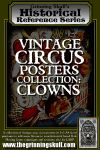RPG Item: Vintage Circus Posters Collection: Clowns