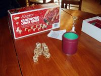 Board Game: Scrabble Crossword Cubes Game
