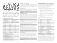 RPG Item: Burrows & Briars