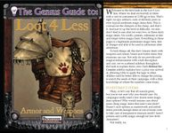 RPG Item: The Genius Guide to Loot 4 Less: Volume 1: Armor and Weapons