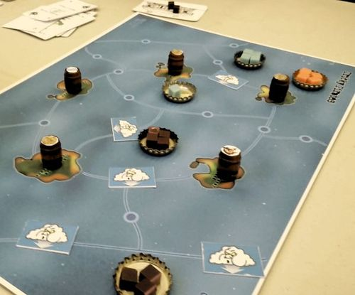 Board Game: Tricky Pirates