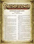 RPG Item: Advanced Class Guide Errata