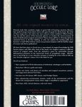 RPG Item: Occult Lore