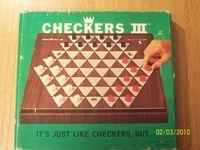 Board Game: Checkers III