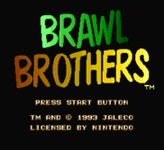 Video Game: Brawl Brothers
