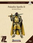 RPG Item: Echelon Reference Series: Paladin Spells II (3PP)