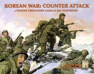 Board Game: Korean War: Counter Attack – A Panzer Grenadier Game