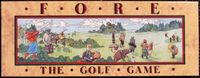 Board Game: Fore: The Golf Game
