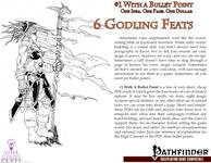 RPG Item: Bullet Points: 6 Godling Feats