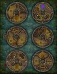 RPG Item: VTT Map Set 165: The Wizard's Tower
