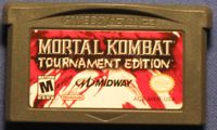 Video Game: Mortal Kombat Tournament Edition