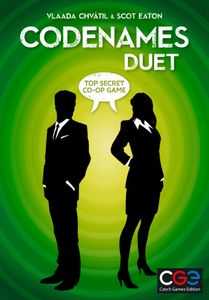 Codenames: Duet Cover Artwork