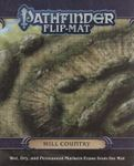 RPG Item: Pathfinder Flip-Mat: Hill Country