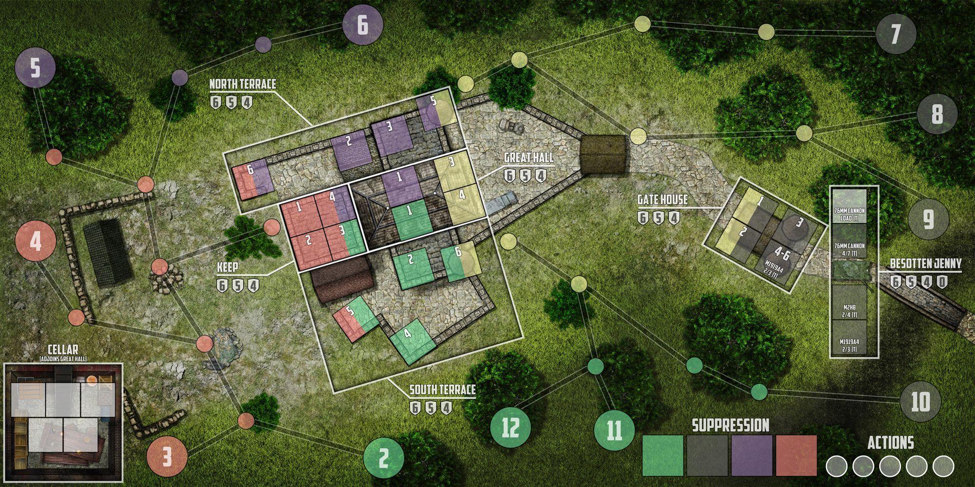 WiP] Castle Itter: the Strangest Battle of WW2 - 2015-16 Wargame Contest  (Contest Ready) | BoardGameGeek