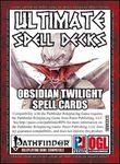 RPG Item: Ultimate Spell Decks: Obsidian Twilight Spell Cards