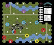 Board Game: Age of Steam Expansion: Montréal Métro