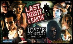 Last Night on Earth: The Zombie Game – 10 Year Anniversary Edition Cover Artwork