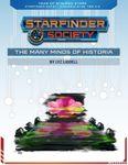 RPG Item: Starfinder Society Season 1-38: The Many Minds of Historia