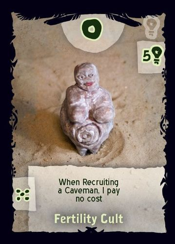 Board Game: Cavemen: The Quest for Fire