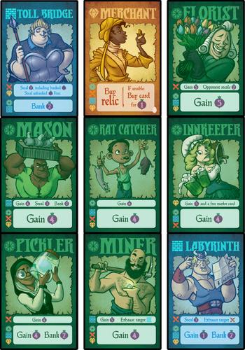 Board Game: Village Pillage