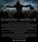 RPG Item: Shadow of Mordor