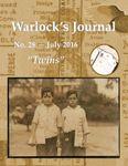 Issue: Warlock's Journal (Issue 28 - Jul 2016)