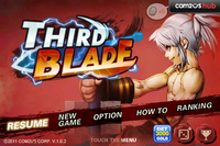 Video Game: Third Blade