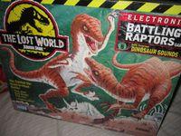 Board Game: Jurassic Park Electronic Battling Raptors Game