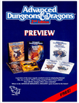 RPG Item: Advanced Dungeons & Dragons 2nd Edition Preview