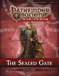RPG Item: Pathfinder Society Scenario 5-20: The Sealed Gate