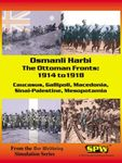 Board Game: Osmanli Harbi: The Ottoman Fronts – 1914 to 1918