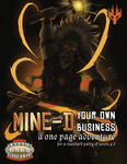 RPG Item: Mine-d Your Own Business (Savage Worlds)