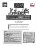 RPG Item: Nightmares & Dreams Web Enhancement: Free Monsters