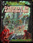 RPG Item: Creatures of the Apocalypse Codex
