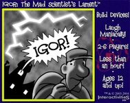 Board Game: IGOR: The Mad Scientist's Lament