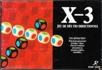 Board Game: X-3: Jeu de Dés Tri-Directionnel