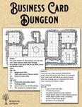RPG Item: Business Card Dungeon