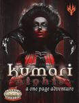 RPG Item: Kumari Nights: A One Page Adventure (Savage Worlds)