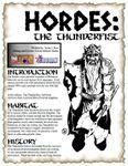 RPG Item: The Thunderfist