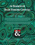 RPG Item: In Search of Star Fissure Crystal