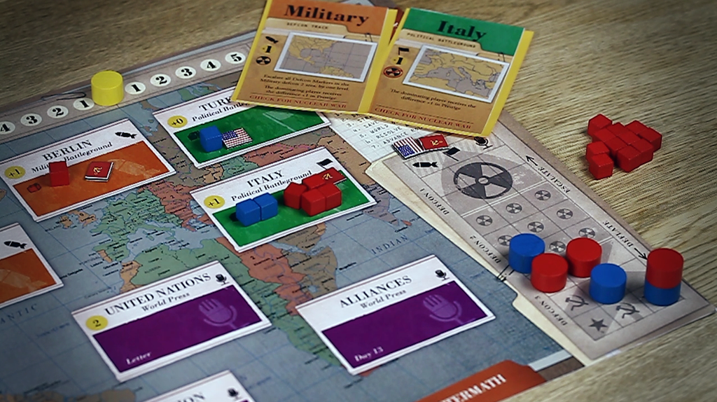 Board Game: 13 Days: The Cuban Missile Crisis