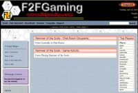 Last known standings from F2F gaming