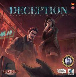 Deception: Murder in Hong Kong Cover Artwork