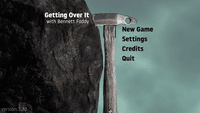 Video Game: Getting Over It with Bennett Foddy