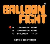 Video Game: Balloon Fight