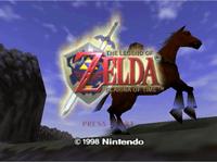 Video Game: The Legend of Zelda: Ocarina of Time