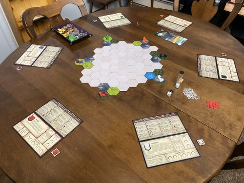 Prototype game setup