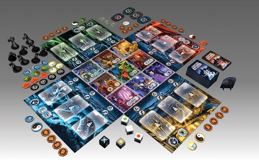 Game components (Publisher's Press Image)